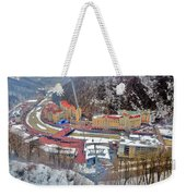 Top View. Krasnaya Polyana. Weekender Tote Bag