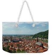Top View Of Heidelberg, Germany. Weekender Tote Bag