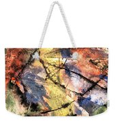 Topographical Weekender Tote Bag