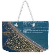 Topsail Beach Weekender Tote Bag