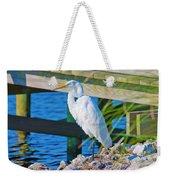 Topsail Egret Weekender Tote Bag