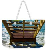 Topsail Island Ocean Steps Weekender Tote Bag