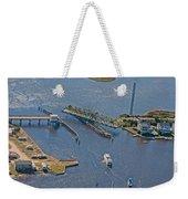 Topsail Swing Bridge Weekender Tote Bag