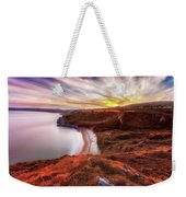 Tor Bay Sunset Weekender Tote Bag