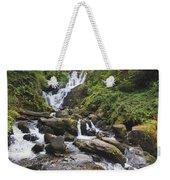 Torc Waterfall In Killarney National Weekender Tote Bag