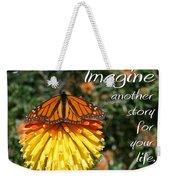 Torch Lily And Monarch Weekender Tote Bag