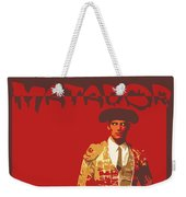 Torero Weekender Tote Bag