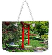 Torii Gate- Horizontal Weekender Tote Bag