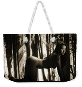 Toriwaits Nude Fine Art Print Photograph In Black And White 5098 Weekender Tote Bag