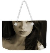 Toriwaits Nude Fine Art Print Photograph In Black And White 5099.01 Weekender Tote Bag