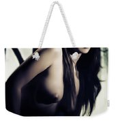 Toriwaits Nude Fine Art Print Photograph In Black And White 5101 Weekender Tote Bag