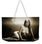 Toriwaits Nude Fine Art Print Photograph In Black And White 5102 Weekender Tote Bag