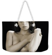 Toriwaits Nude Fine Art Print Photograph In Black And White 5106 Weekender Tote Bag