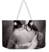 Toriwaits Nude Fine Art Print Photograph In Black And White 5107 Weekender Tote Bag