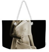 Toriwaits Nude Fine Art Print Photograph In Black And White 5108 Weekender Tote Bag