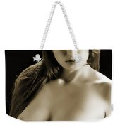 Toriwaits Nude Fine Art Print Photograph In Black And White 5109 Weekender Tote Bag