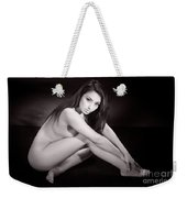 Toriwaits Nude Fine Art Print Photograph In Black And White 5110 Weekender Tote Bag