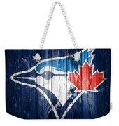 Toronto Blue Jays Barn Door Weekender Tote Bag