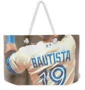 Toronto Blue Jays Jose Bautista 2 Weekender Tote Bag