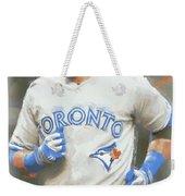 Toronto Blue Jays Jose Bautista Weekender Tote Bag