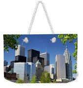 Toronto Downtown Skyline Weekender Tote Bag