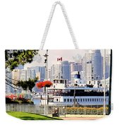 Toronto Island Ferry Arrives Weekender Tote Bag
