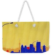 Toronto Lemon Skyline Weekender Tote Bag