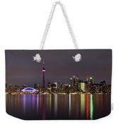 Toronto Lights Weekender Tote Bag