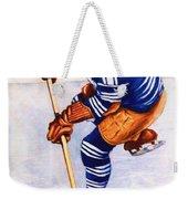 Toronto Maple Leafs Vintage Program Two Weekender Tote Bag