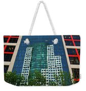 Toronto Metro Hall Reflected In The Cbc Building Weekender Tote Bag