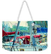 Toronto Nautical Weekender Tote Bag