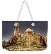 Toronto Old City Hall  Weekender Tote Bag