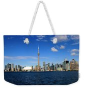 Toronto Skyline 26 Weekender Tote Bag