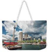 Toronto - Skyline / Harbourfront Weekender Tote Bag