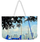 Toronto Through A Forest Of Masts Weekender Tote Bag