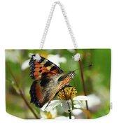 Tortoise Butterfly Weekender Tote Bag