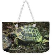 Tortoise Photobomb Weekender Tote Bag
