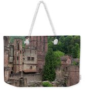 Torturm And Seltenleer Heidelberger Schloss Weekender Tote Bag