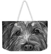 Tosha The Highland Terrier Weekender Tote Bag