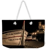 Tossa De Mar By Night Weekender Tote Bag