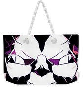 Total Eclipse Of The Rose Abstract Weekender Tote Bag
