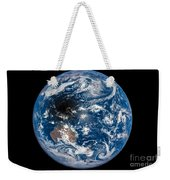 Total Solar Eclipse Casting Shadow Weekender Tote Bag