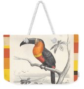 Toucan Bird Responsible Travel Art Weekender Tote Bag
