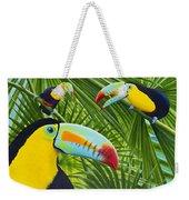 Toucan Threesome Weekender Tote Bag