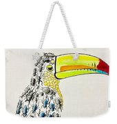 Toucan - You Are What You Eat Weekender Tote Bag