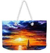 Touch Of Horizon Weekender Tote Bag