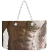 Touch Of Light Weekender Tote Bag