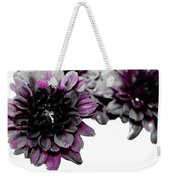 Touch Of Pink Mums Weekender Tote Bag