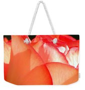Touch Of Rose Weekender Tote Bag