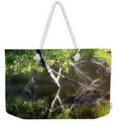 Touch Of Silence Weekender Tote Bag
